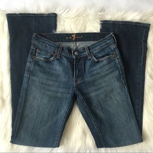 7 For All Mankind Size 27 Bootcut Jeans